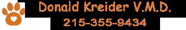 Donald Kreider VMD - Compassionate Veterinary Services